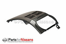 GENUINE NISSAN 2002-2005 ALTIMA INSTRUMENT CENTER DASH CONSOLE LID BEZEL NEW