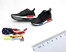 """1/6 scale black NMD sneakers for 12"""" male figure Hot toys Phicen ganghood ❶USA❶"""