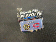 NHL-2009 STANLEY CUP PLAYOFFS -BOSTON BRUINS VS. MONTREAL CANADIENS LOGO PIN