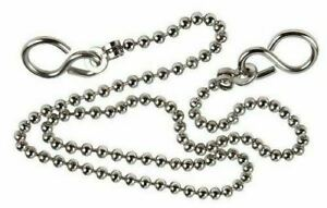 """Replacement Chrome 12"""" Sink Basin Bath Ball Plug Chain and S Hook Ends Kitchen"""