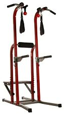Stamina X Fortress Power Tower Sit Pull Push Ups Vertical Knee Raise Plyo Box