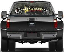 Rockstar Energy Version 2 Window Graphic Decal Sticker Truck SUV Van Car