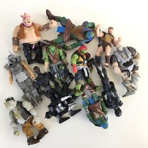 Collection of 10 Playmates Toys Figurines - Ninja Turtles & More #453