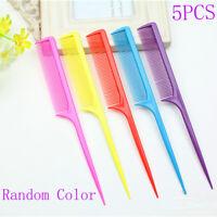 5PC Travel Hairdressing Brush Anti-static Mini Pocket Hair Comb Styling Tool h