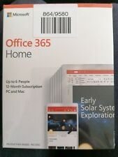 Office 365 Home up to 6 people 12 month subscription pc & mac