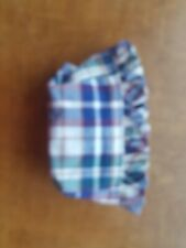 Longaberger Salt & Pepper Basket Liner - Woven Traditions Plaid