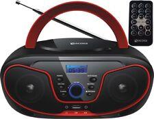 CD-Player Boombox Stereoanlage Tragbares Kinder Radio CD-Radio Kompaktanlage