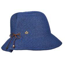 2ea144ae8471b Ladies Cappelli Paper Braid Cloche Navy Hat CSW220