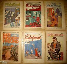 Der Kinderfreund Beilage der Sozialdemokratischen Tageszeitungen 6 Hefte 1929