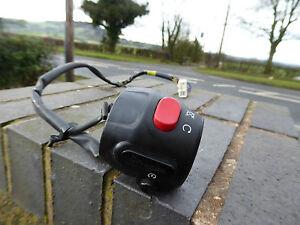 TRIUMPH SPEEDMASTER 2010 865cc ORIGINAL RIGHT SWITCHGEAR START STOP KILL