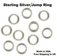 18 Ga Heavy Sterling Silver Jump Ring (SAW- CUT) Choose  Size & Quantity