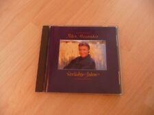 CD Peter Alexander - Verliebte Jahre - 1991 - Dieter Bohlen incl. Auf die Liebe