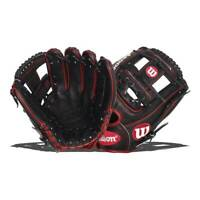 """Wilson A2000 Black SuperSkin Pedroia 11.5"""" Baseball Glove Right-Hand Throw -MS1"""