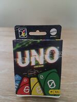 Mattel UNO 2000s 00s Retro Version Family Card Game #4 of 5 in Series 50th Ann.