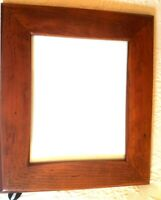 """Brown Wood Rustic Saloon Barn Vintage Style Picture Frame 12"""" X 14"""""""