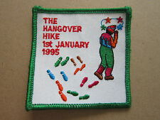 Hangover Hike 1995 Walking Hiking Cloth Patch Badge (L2K)