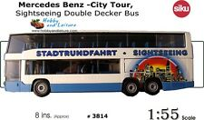 Siku Mercedes Benz -City Tour, Sightseeing Double Decker Bus 1:55 Scale # 3814