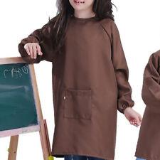 Tablier Manches Longues Enfants Vêtements Peinture Bavoir Respirant Imperméable