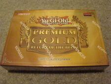 ~YuGiOh Premium Gold Return of the Bling Booster BOX Rare Exodia Lavalval Chain!