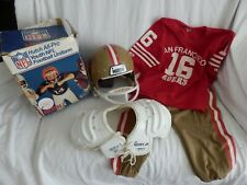 More details for vintage hutch youth hfl football uniform - san francisco 49ers see listing