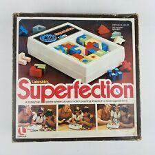 Superfection 1975 Puzzle Race Lakeside Vintage Game 8675 Original Box Complete