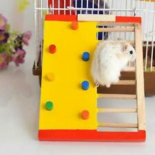 Hamster Climbing Ladder For Pet Hamsters Accessories Rat Wooden Exercise Toy New