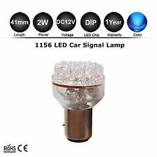 1x 1156 24-LED BA15S BLUE INDICATOR AUTOMOTIVE GLOBE Car Brake Light Bulb DC12V