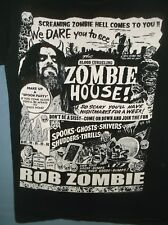 ROB ZOMBIE t-shirt SM Black Cotton Can You Take It House Spook