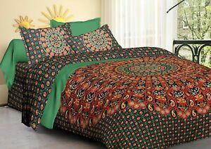 Indian Boho Dream Catcher Paisley Mandala Bedding Bedspread King Hippie Tapestry
