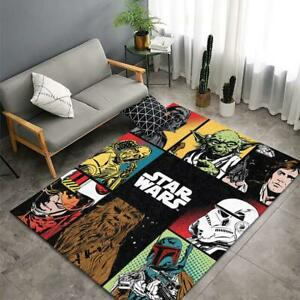 Star Wars Rug, Star Wars Movie Area Rugs, Gift For Fan Star Wars For Living Room