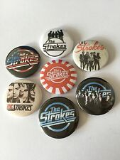 7 The Strokes button badges THis is it Angles Comedown Machine Room on Fire