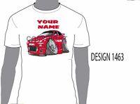 KOOLART MG  PERSONALISED NAME T-SHIRT GIFT CHRISTMAS PRESENT CAR MOTOR 1463