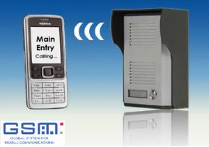 GSM Intercom for Electric Gates and Doors (Door Entry) Internal Aerial UK Built
