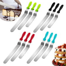 3PCS Angled Straight Spatula  Cream Spread Cake Decorating Cutter Set
