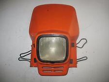 HEADLIGHT PLASTIC SHROUD LENS ASSY 1986 KTM 500 MX MXC MX500 MXC500 86 87 85