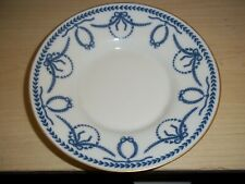"Vintage Faberge Limoges France 5.5"" Plate Blue & White Bread Cake Cookie L@K!"