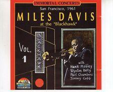 CD MILES DAVIS at the Blackhawk vol 11993 EX- (R1817)