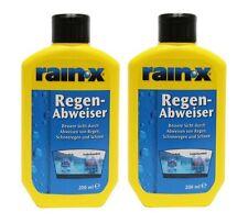 2 x 200ml Rain-X Regenabweiser # RainX Original # jetzt mit verbesserter Formel!