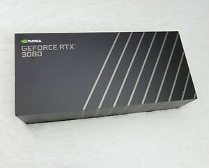 NVIDIA GeForce RTX 3080 Founders Edition 10GB GDDR6X Graphics Card -NEW SEALED