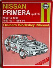 Haynes - Nissan Primera (Petrol) 1990 to 1995 Owners Workshop Manual Unused -T48
