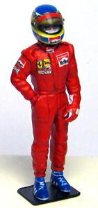 1/43 1985 Alboreto figure for Tameo kits or BBR Ferrari 156/85 Racing Dioramics