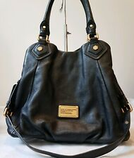 Marc by Marc Jacobs Black Classc Q Fran Leather Hobo Bag with shoulder strap
