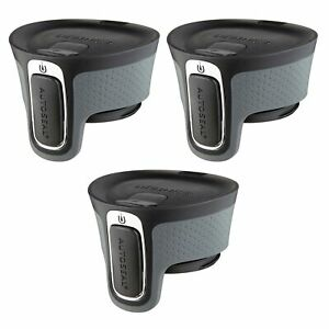 Contigo AUTOSEAL West Loop Easy-Clean Travel Mug Replacement Lid Black (3-Pack)