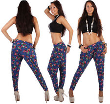 Pantaloni da donna blu taglia L