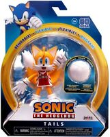 SONIC THE HEDGEHOG 4 INCH TAILS ACTION FIGURE BENDABLE FLEXIBLE WAVE 3 JAKKS