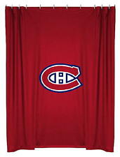 NEW MONTREAL CANADIENS NHL Logo Jersey Mesh Shower Curtain