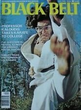 4/76 BLACK BELT MAGAZINE EDWARD KALOUDIS ROBERT TRIAS KARATE KUNG FU MARTIAL ART