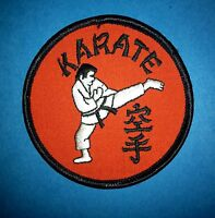 Vintage 1970's Karate MMA Martial Arts Gi Hipster Jacket DIY Craft Patches 356