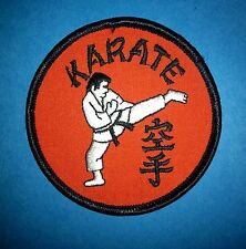 Vintage 1970's Karate Mma Martial Arts Gi Jacket Patches 356