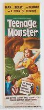 Teenage Monster FRIDGE MAGNET (1.5 x 4.5 inches) insert movie poster horror